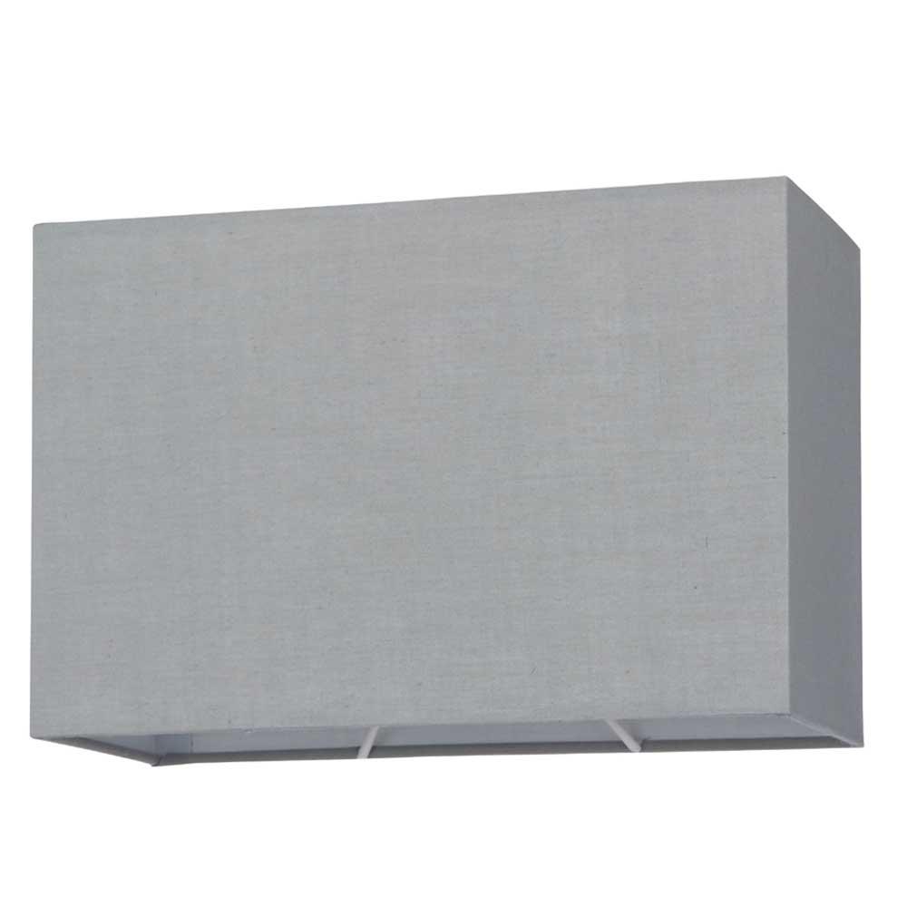 Grey Rectangular Shade